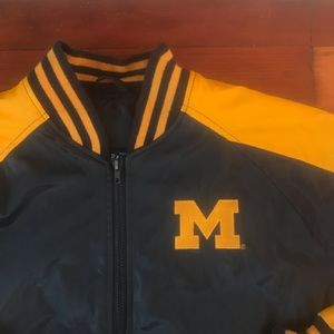 Steve and Barry's Michigan varsity jacket